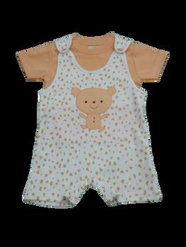 Infant/Baby - Boys set Yellow Teddy