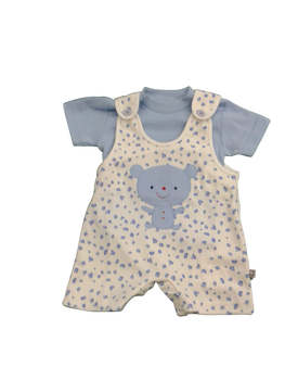 Infant/Baby - Boys set Blue Teddy