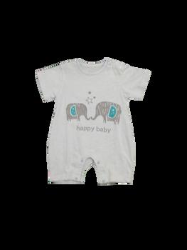 Infant/Baby - Babygrow   Blue Elephant