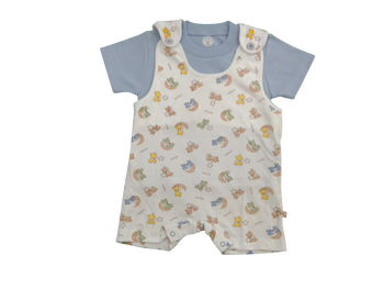 Infant/Baby - Overall Blue