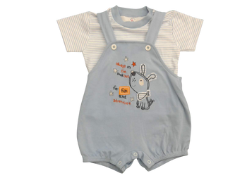 Infant/Baby - Overall Blue Star