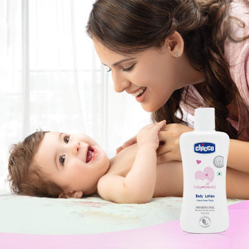 Chicco baby Moment - Body Lotion (Size: 200 ml ) 0m+