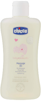 Chicco Baby Moments Massage Oil  ( 200ml ) 0M +