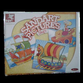 SandArt Pictures Ships 3+Age