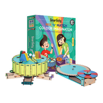 Mix n Match Color Imaginator STEM STEAM Educational DIY Building Construction Activity Toy Game Kit