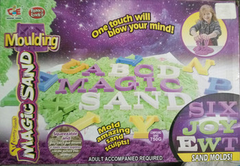 Moulding Magic Sand with Alphabets Accessories Toy Kit