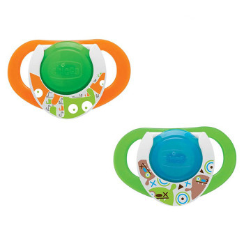 LATEX SOOTHER  12M+ -LUMI (2PK)