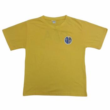 DIA Yellow sports T Shirt