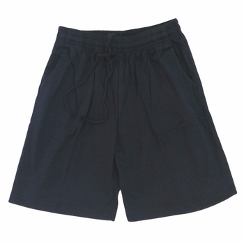 blue sports shorts - front