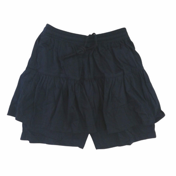blue sports skirt-front