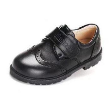 boys school shoes-black