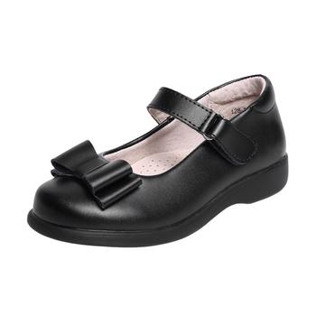 Girls school shoes-black