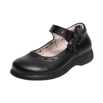 Girls school shoes -black