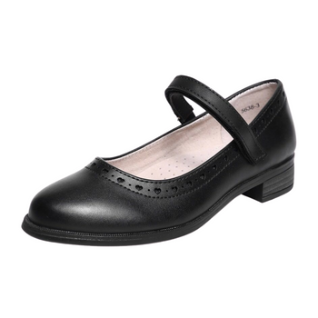 Girls school shoes- black
