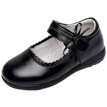Black school shoe-Girls