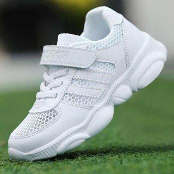 School shoe - White