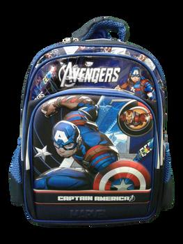 School bag  (16inch ) -Captain America