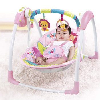 Mastela Deluxe Portable Baby Swing (Pink) 6519