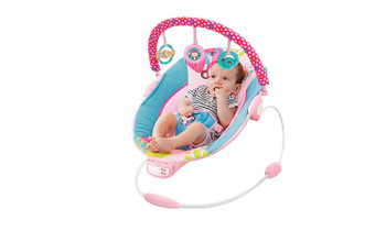 Mastela Toddler to Baby Rocker Bouncer Chair Musical (Multicolour)