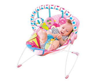 Mastela Soothing Vibration Bouncer (Multicolour)