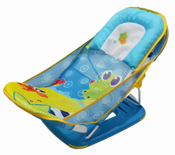 Mastela Deluxe Frog Baby Bather ( Blue )