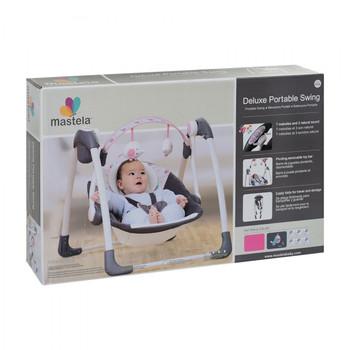 mastela deluxe portable Baby  swing ( 6504)