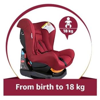 COSMOS CAR SEAT  RED  ( 0-18KG )