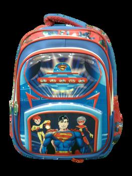 School bag  (16 inch ) -Superman