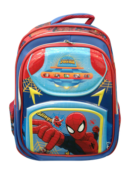School bag  (16 inch ) -Spider man