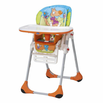 POLLY 2 IN 1 HIGH CHAIR ( Wood Friends ) 6M+