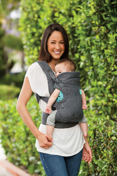 Baby Carrier-Flip 4-in-1 Convertible Carrier, Grey