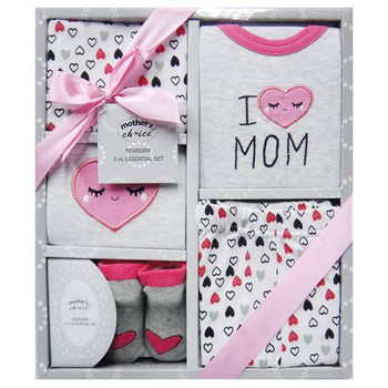 5pc Newborn Gift Set