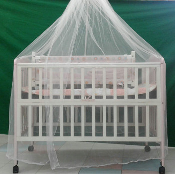 Mosquito Net with Stand  ( 2x4 crib size )