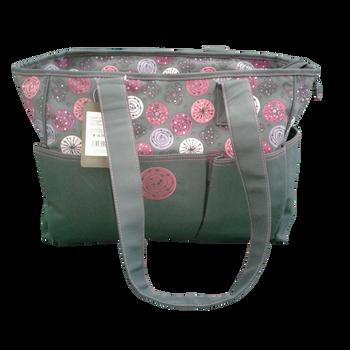 Clinic Bag  -Grey/Pink