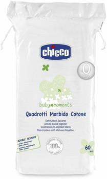 Cotton Squares ( 60pcs -100%  soft cotton )