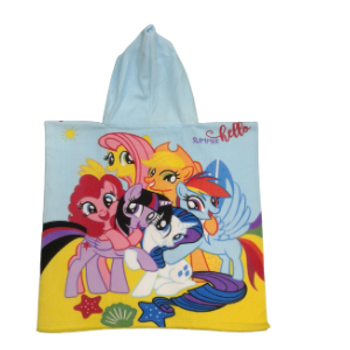 Swimming Towel - with Hood - PONY