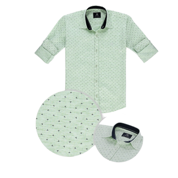 Boys Shirt - light green