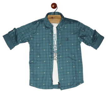 Boys Shirt - Jacket (2pcs)