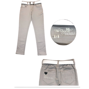 Boys trousers-  T-GREY LIGHT