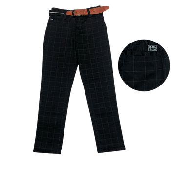 Boys trousers-  T-BLACK