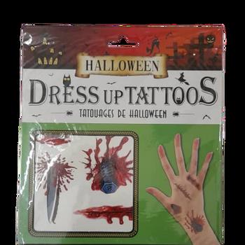 Halloween Dress up Tattoos - Bolt