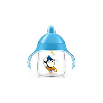 My Penguin Sippy Cup 9oz ( 12M+ ) 260ML Blue