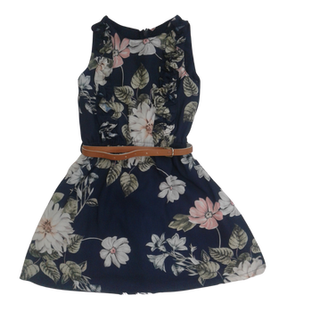 "Girls Dress ""Navy """