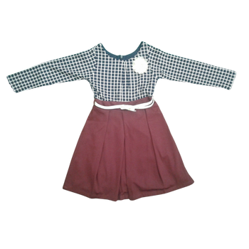 "Girls Dress ""Maroon """