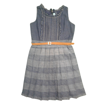 "Girls Dress ""D-BLUE """