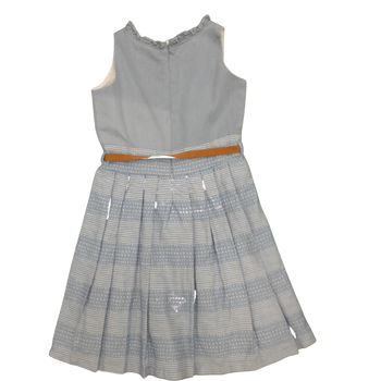 "Girls Dress ""L- Blue """