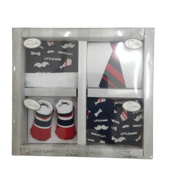 4pc  Newborn Gift Set