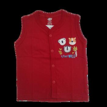 Infant vest -stay wild
