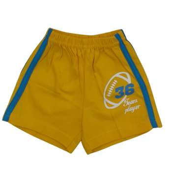 100% Cotton Infant Shorts -36 team player