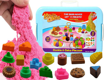 Magic Motion Cookie and Cake Theme Moving Kinetic Sand 1kg